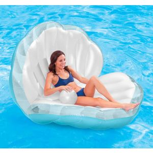 Clam Oyster Shell Pearl Inflatable Pool Float