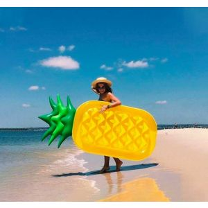 Pineapple Inflatable Pool Float Lounger