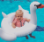 Baby Swan Pool Float Inflatable Tube Ring