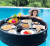 Large Floating Table Tray For Pool Side Hotel Spa Swimming Pool Float Breakfast Suspension Tray Table