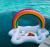 Rainbow Cloud Cup Holder Pool Float for Adults and Kids