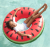 Watermelon Inflatable Pool Float Tube Ring